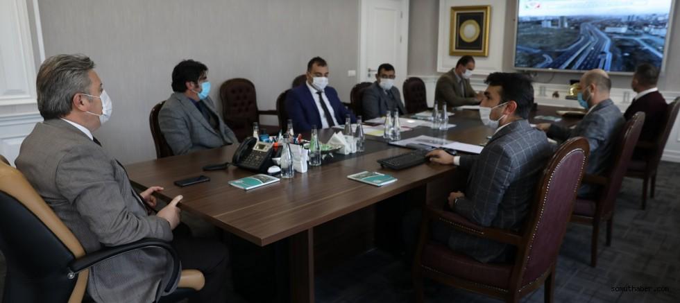 Melikgazi'de 2021 Yılı Yol Projeleri Toplantısı Yapıldı