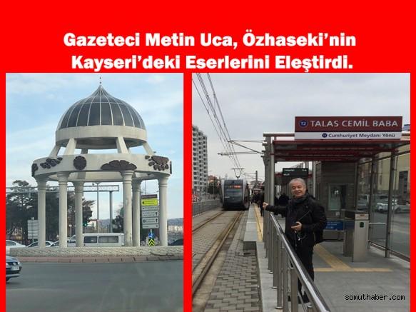 Metin Uca Kayseri Üzerinden Özhaseki'ye Yüklendi