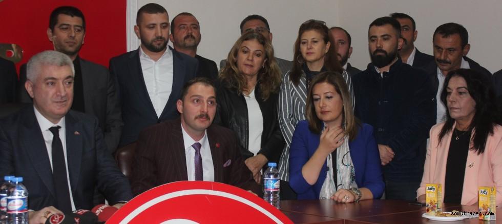 MHP Melikgazi İlçe Başkanı Görevi Devraldı