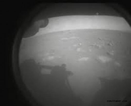 NASA'nın Uzay Aracı Mars'a İniş Yaptı