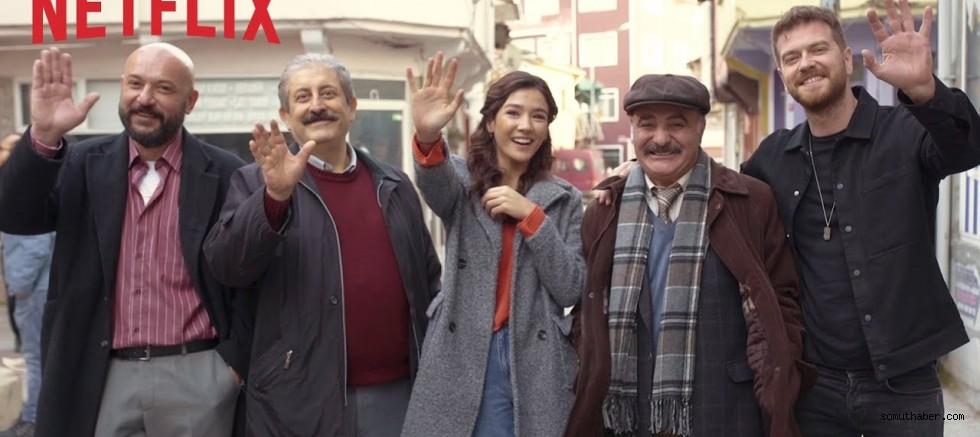 Netflix'in Yeni Dizisi '50m2'den İlk Fragman
