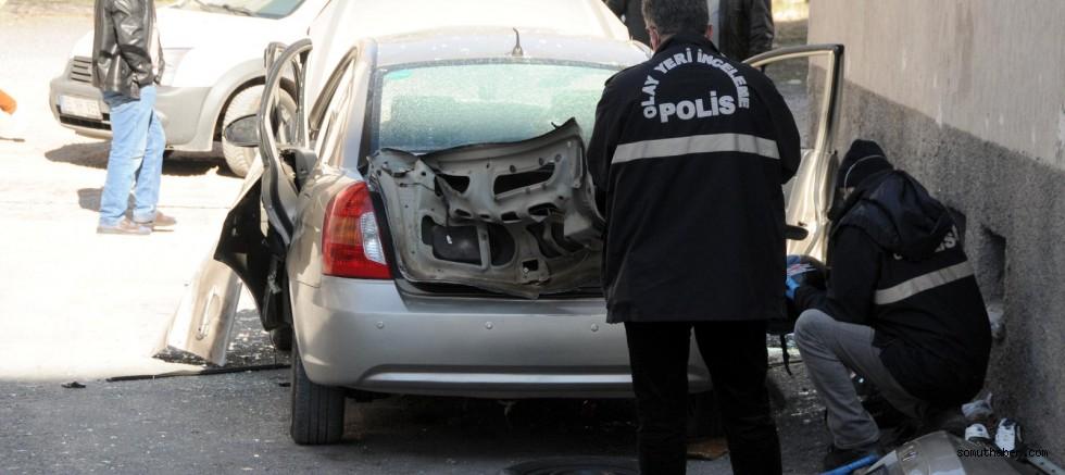 Otomobilde Çakmak Gazı Patlaması: 3 Yaralı