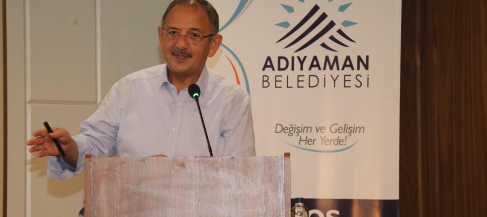 """Özhaseki: """"CHP'li Belediyeler Mağdur Edebiyatı Yapıyor"""""""