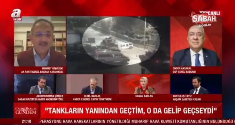"""Özhaseki: """"Kılıçdaroğlu, Tankların Yanından Pazarlıkla Geçti"""""""
