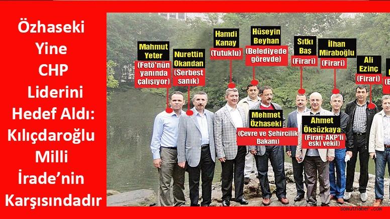 Özhaseki Yine CHP Liderini Hedef Aldı: Kılıçdaroğlu Milli İrade'nin Karşısındadır