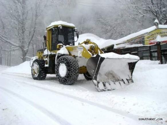 Pınarbaşı Belediyesi Karla Mücadele Ekibi Hazır Kıta Bekliyor