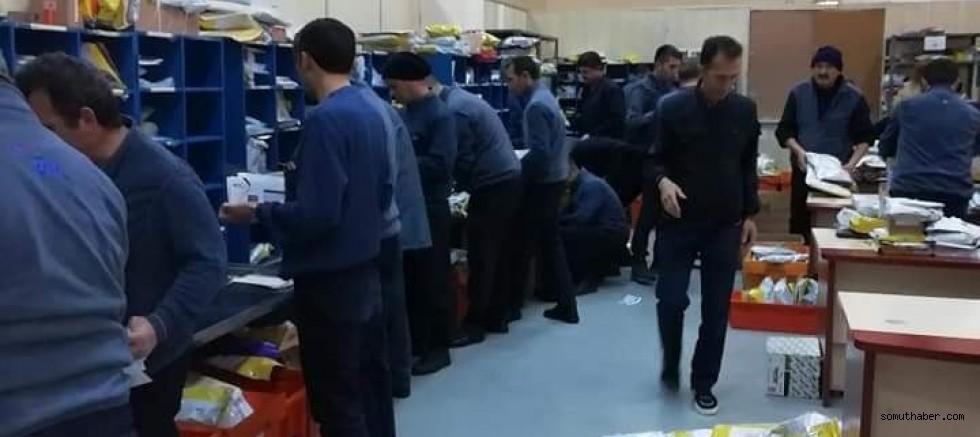 PTT çalışanlarının 'corona' isyanı!