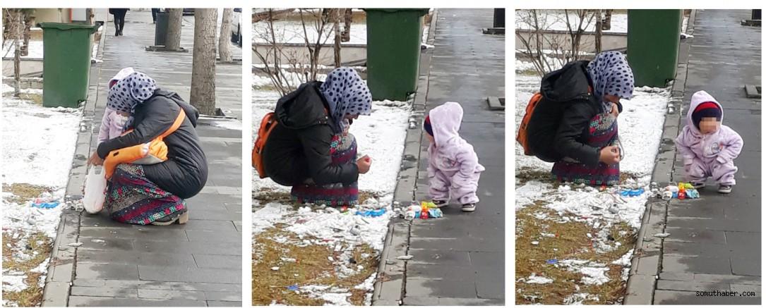 Sokaktan gelen 'atık' mutluluk