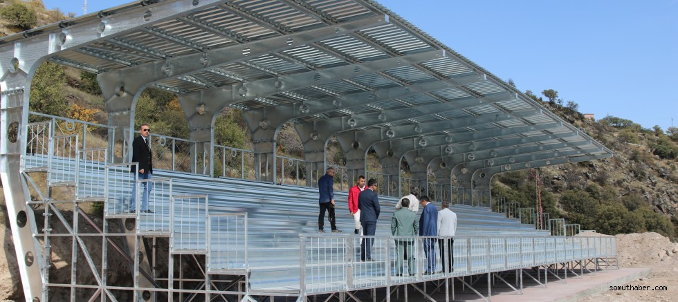 Spor Camiasına Modern Bir Stadyum Hediye Ediyoruz