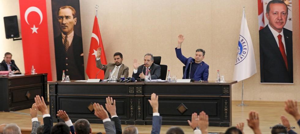 Talas Belediye Meclisi Toplandı