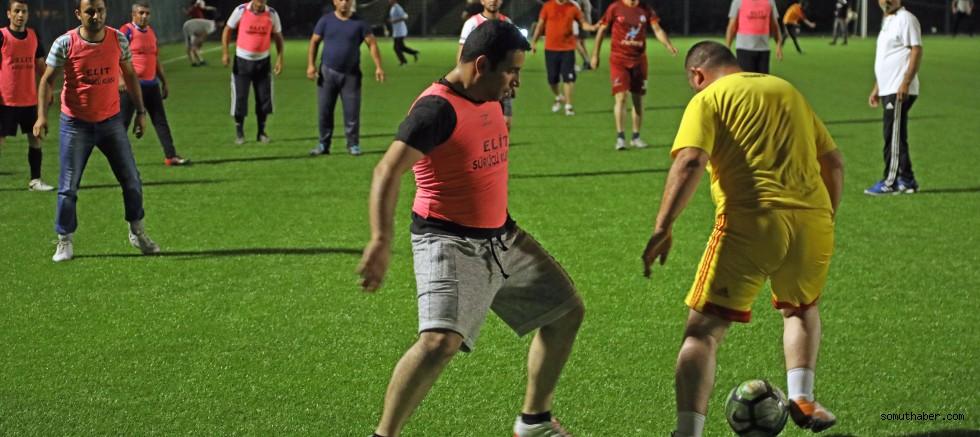 Talas'ta Birimler Arası Futbol Turnuvası