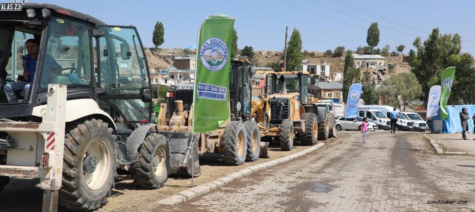 Talas'tan Çevlik'e Hizmet Çıkarması