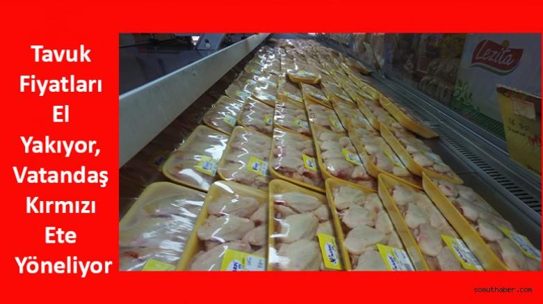 Tavuk Fiyatları El Yakıyor, Vatandaş Kırmızı Ete Yöneliyor