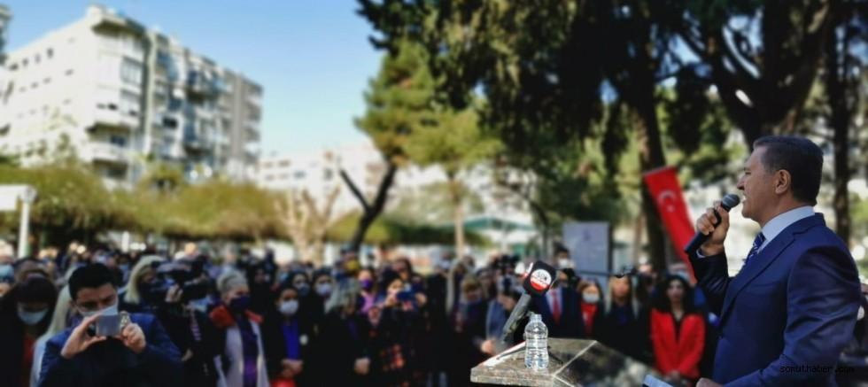 TDP'li Sarıgül, 8 Mart Dünya Emekçi Kadınlar Günü'nü Andı