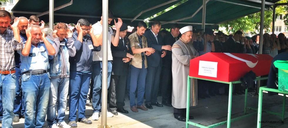 Trafik kazasında ölen Kayserili Uzman Çavuş'a son görev
