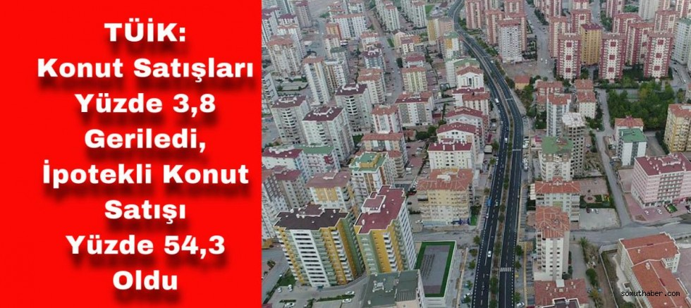 TÜİK, Ocak-Mayıs Dönemi Konut Satış Oranlarını Açıkladı