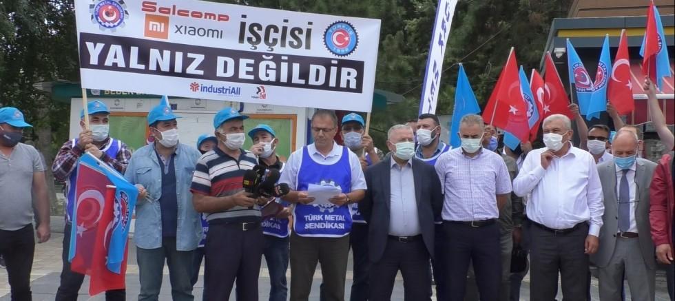 Türk Metal'den Xiaomi'ye Tepki