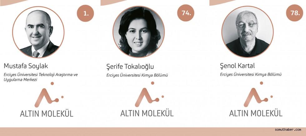 Turkishtime'ın 100 Türk Araştırmasında ERÜ'den 3 Öğretim Üyesi Yer Aldı