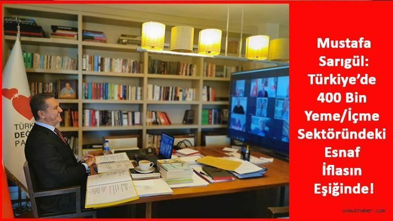 Türkiye'de 400 Bin Yeme/İçme Sektöründeki Esnaf İflasın Eşiğinde!