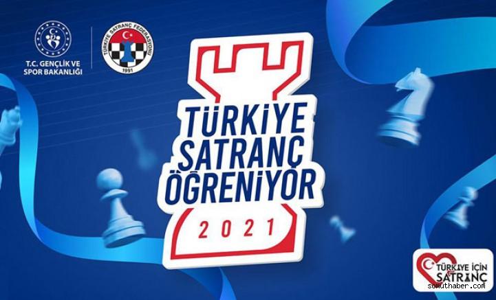 'Türkiye Satranç Öğreniyor' Projesi Başlıyor