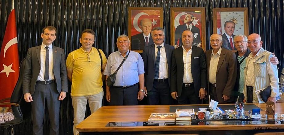 Vatan Partisinden Başkan Uzunluoğlu'na Ziyaret