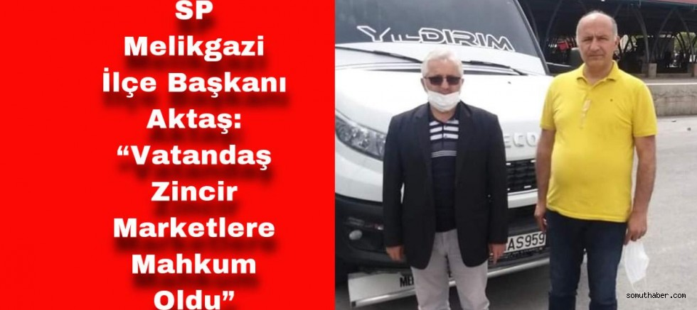 """Vatandaş Zincir Marketlere Mahkum Oldu"""