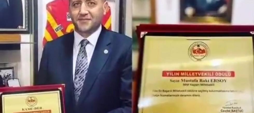 Vekil Ersoy'a Avşar Kızı'ndan Türkü