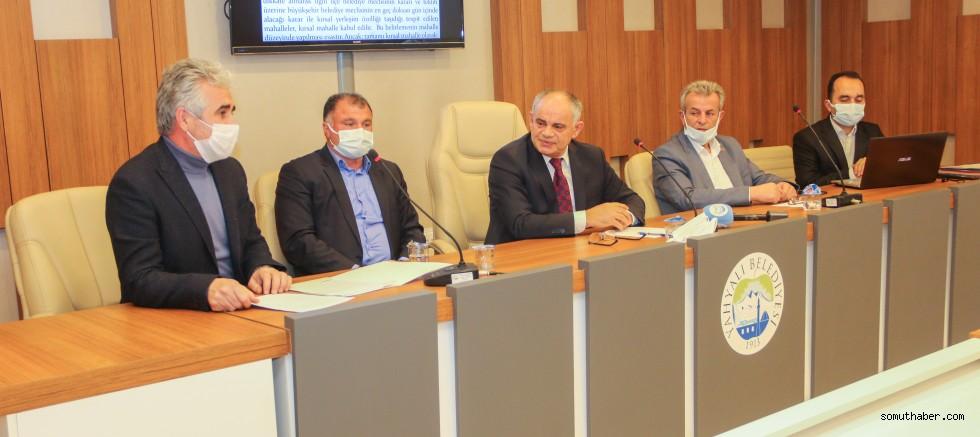Yahyalı Belediye Meclisi Mart Ayı Toplantısı Yaptı