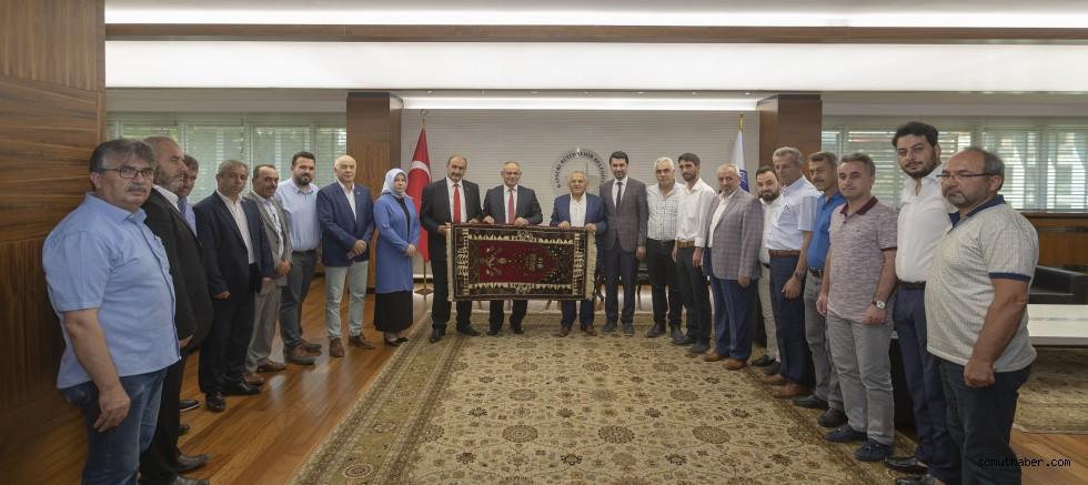 Yahyalı 'Cumhur İttifakı'ndan Büyükşehir'e Ziyaret