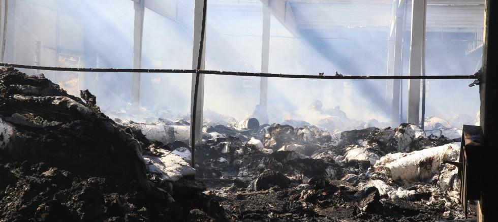 Yangının Bilançosu 40 Milyon TL