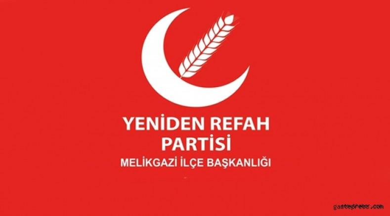 YRP Melikgazi Halkla İlişkiler Birim Başkanı Özkan'dan İlginç Benzetme