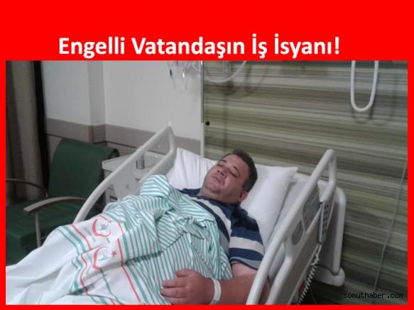 Yüzde 60 Engeli Olan Vatandaşın İŞKUR'dan İş İsyanı!
