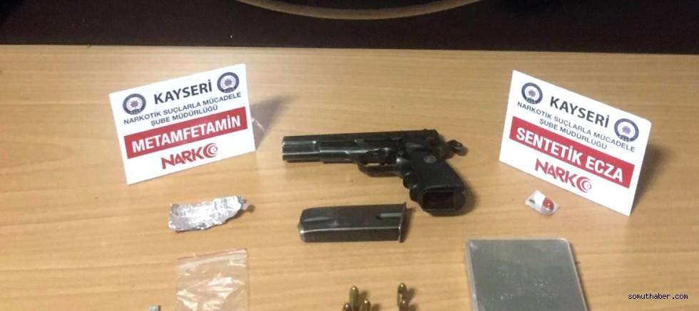 Kayseri'de Uyuşturucu Operasyonu: 22 Gözaltı